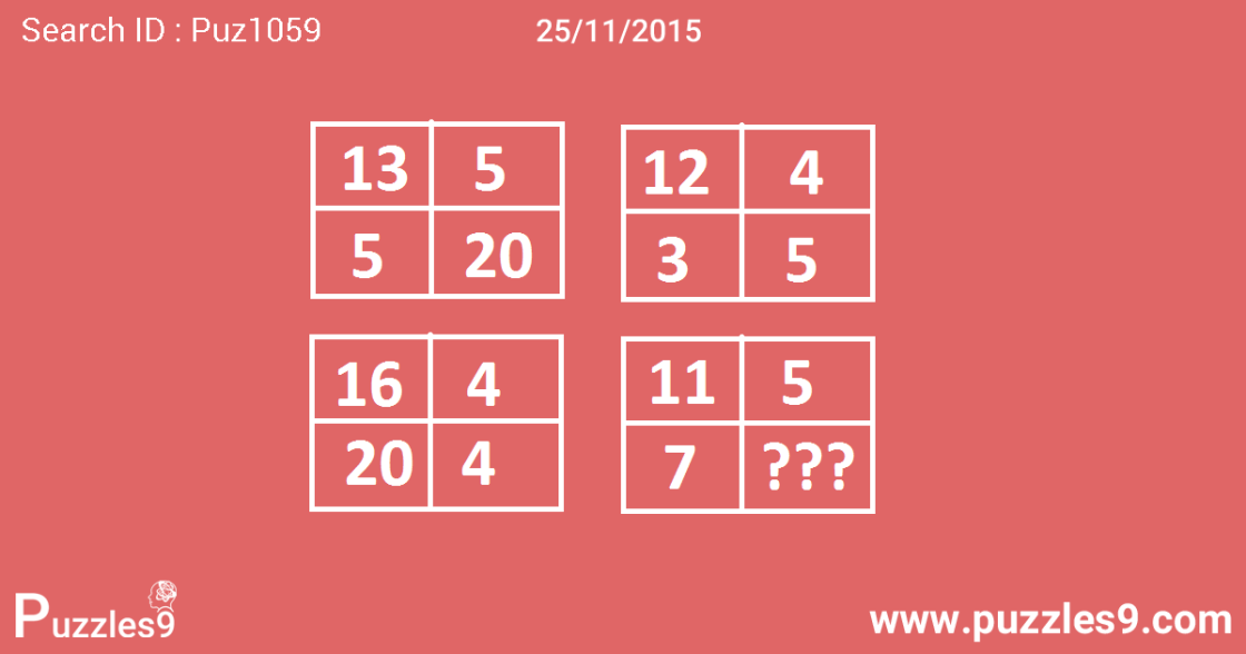 Awesome Number sequence Puzzle With Answer : 25-11-2015 | puz1059