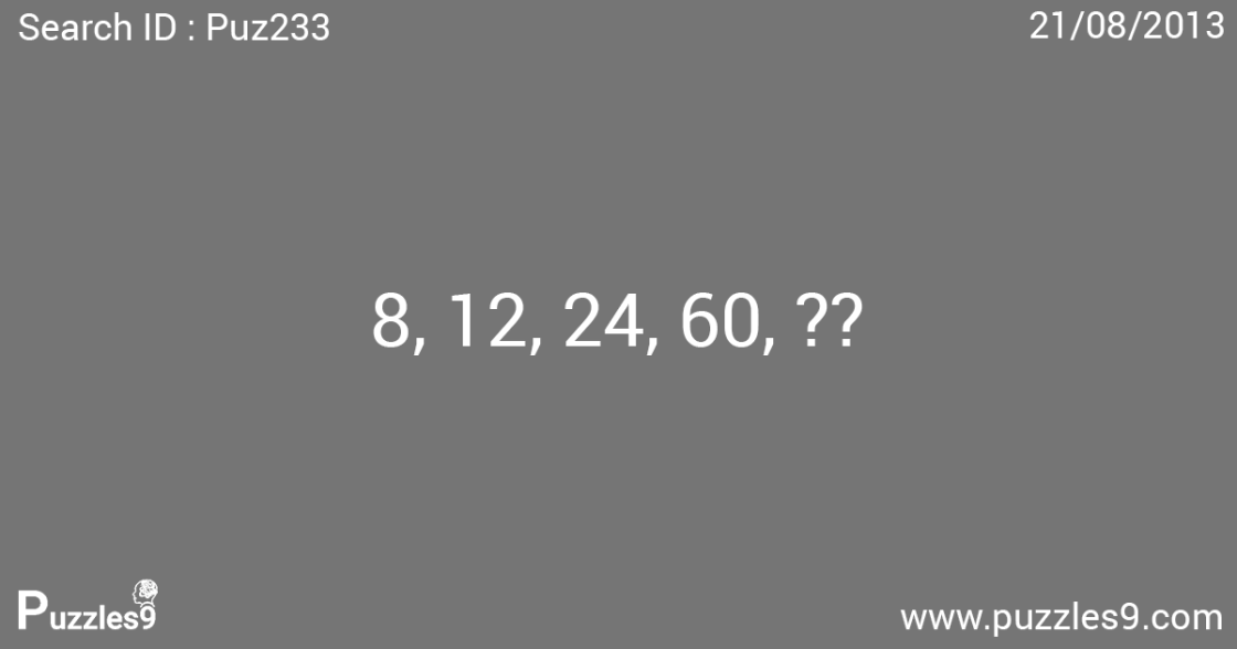 which number finishes the sequence - puz233