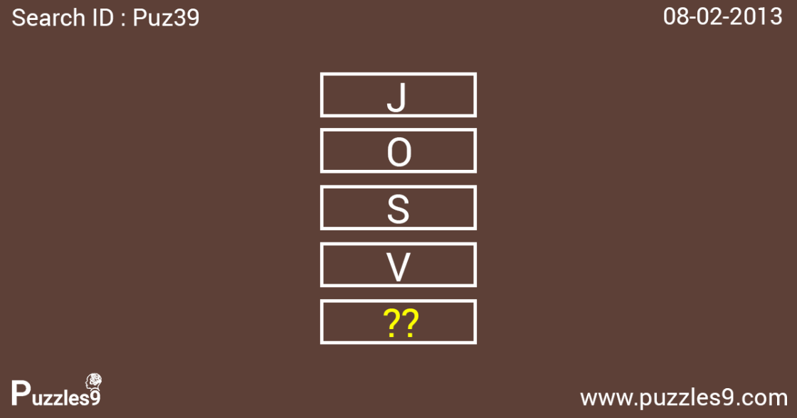 Simple number sequence puzzle with answer | PUZ39 - 08 feb 2013
