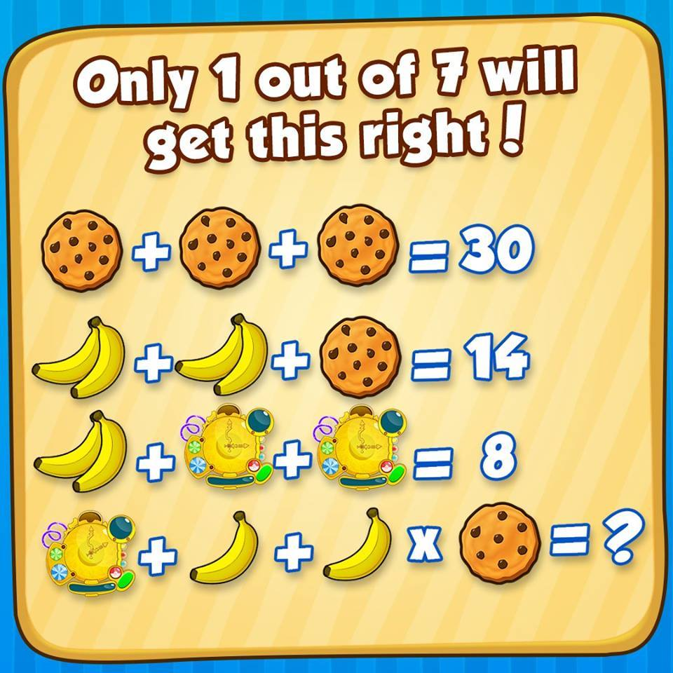 cookie banana clock puzzle brain puzzles