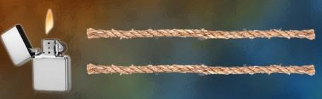 burning rope