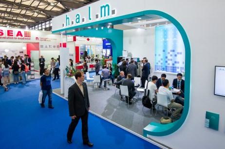 May 29, 2018, Shanghai, China - SNEC trade show.