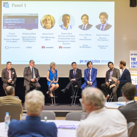 Fututre PV Roundtable, Intersolar Europe 2018