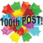 അയ്യോ എനിക്കും തികഞ്ഞു നൂറ് ! വയസ്സല്ല കേട്ടോ പോസ്റ്റാണേ ! 100th Post In Ariel's Jottings