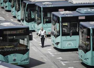 How, and why Chinese cities are electrifying their buses and taxis