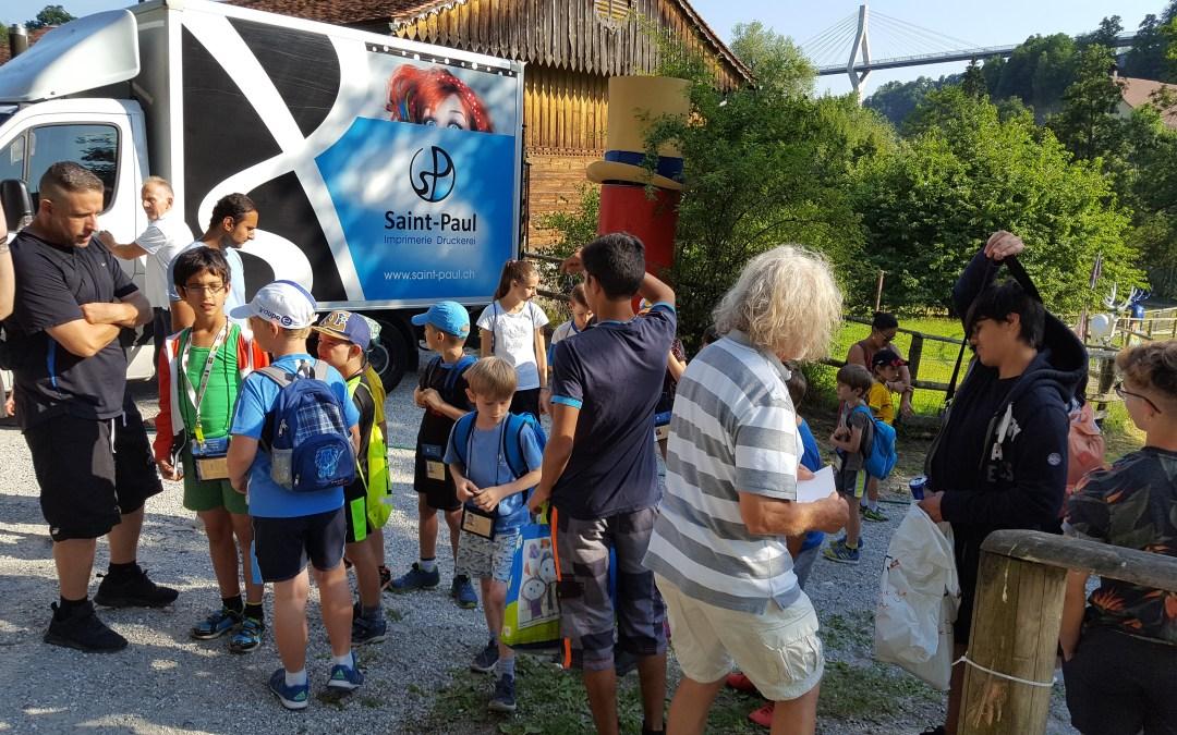 Devenez accompagnant pour le Passeport vacances Fribourg