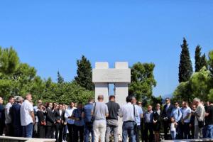 """Položen vijenac na spomenik žrtvama genocida u Srebrenici: """"Crna Gora 11. jul mora uvrstiti u kalendar značajnih datuma"""""""