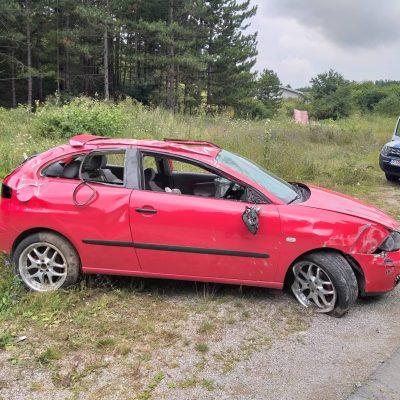 Saobraćajna nezgoda sa lakšim povredama u mjestu Dajevića han kod Pljevalja