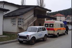 Kamenicama na ambulantno vozilo Hitne pomoći u Pljevljima