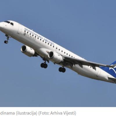 Montengro airlines nagomilao gubitak na 90 miliona eura