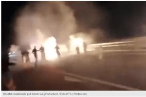 Uhapšeno još devet osoba zbog nasilja na auto-putu Miloš Veliki