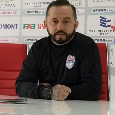 Mulalić: Borili smo se, golman nam je tek došao, ne zna ni imena svih saigrača