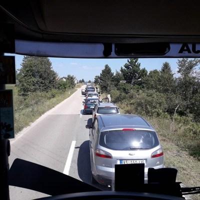 Na Graničnim prelazima kilometarske kolone vozila