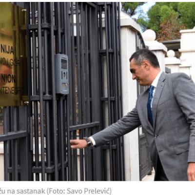Opozicija poručila na sastanku sa Oravom i ambasadorima: Tehnička vlada jedino rješenje