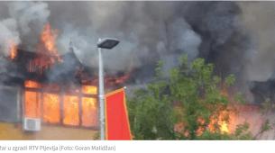 Završeno suđenje optuženom za požar u prostorijama RTV Pljevlja