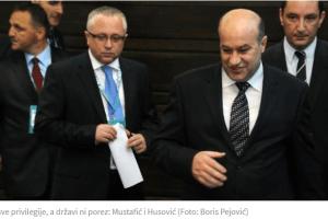 Mustafić i Husović napunili džepove, državi ni cent poreza
