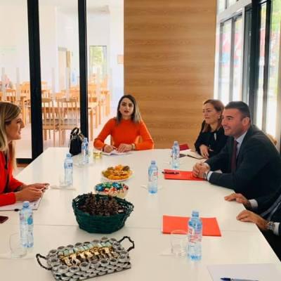 Ministar Purišić u radnoj posjeti Domu za stare u Pljevljima