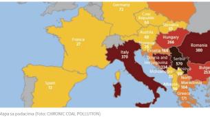 Zagađeni vazduh odnosi živote na Balkanu: U Crnoj Gori 36 mrtvih za godinu
