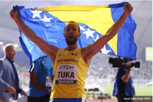 TRKA NA 800 METARA –   Amel Tuka osvojio srebro na Svjetskom prvenstvu u Dohi!