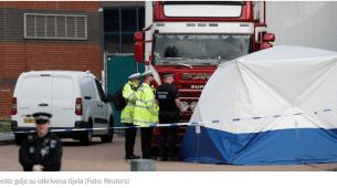 Britanska policija pronašla 39 tijela u kamionu iz Bugarske
