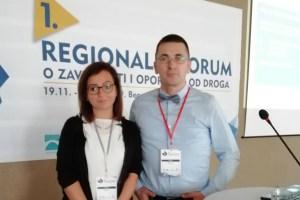 Predstavnica Opštine Pljevlja učestvovala na prvom Regionalnom forumu o zavisnosti i oporavku od droga