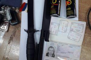 Na GP Ranče oduzeto više predmeta i propagandnog materijala, lice udaljeno sa teritorije Crne Gore
