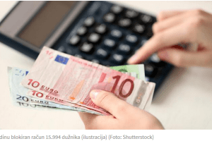 PODACI CENTRALNE BANKE Privreda duguje 637,09 miliona eura
