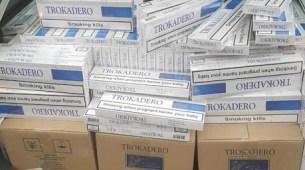 CB Pljevlja: Juče oduzete cigarete vrijednosti oko 10.000 eura