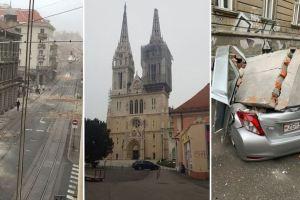 Snažni zemljotresi u Zagrebu: Poginulo dijete, šteta ogromna, oštećena i katedrala…