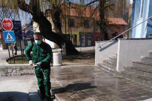 Pojačane mjere dezinfekcije javnih površina i ulica
