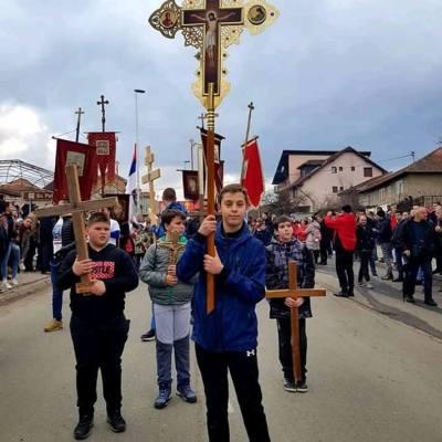 U Bijelom Polju održana još jedna litija u znak protesta protiv usvojenog Zakona o slobodi vjeroispovijesti