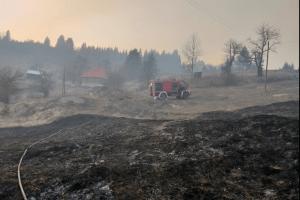 Požari u pljevaljskoj opštini – Gore štale i pomoćni objekti,ugrožene kuće