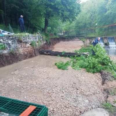 U toku adaptacija spoljnih bazena na objektu mrijestilišta na rijeci Breznici