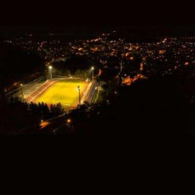 """Stadion """"Pod Golubinjom"""" zasijao prvi put u istoriji"""
