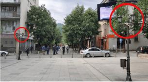 U Bijelom Polju uhapšene tri osobe zbog uništavanja crnogorskih zastava
