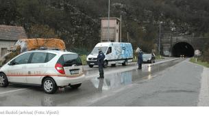 RADOVI NA PUTU – Povremeni prekid saobraćaja kroz tunel Budoš
