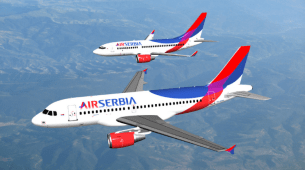Air Srbija od 7. juna ponovo leti za Podgoricu i Tivat