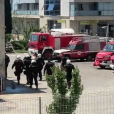U toku pretres vatrogasne stanice i privođenje vatrogasaca u Budvi
