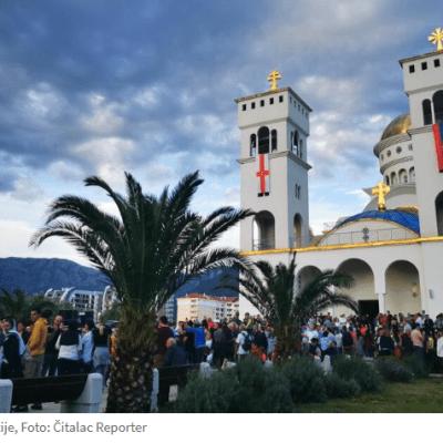Uprava policije: Podignuta krivična prijava protiv sveštenika Slobodana Zekovića zbog jučerašnje litije u Baru