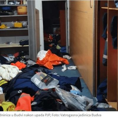 Bogetić: PJP zahtijevala da ljude zovemo da ih privode, da bi ispalo da je vatrogasna jedinica učestvovala u nemirima