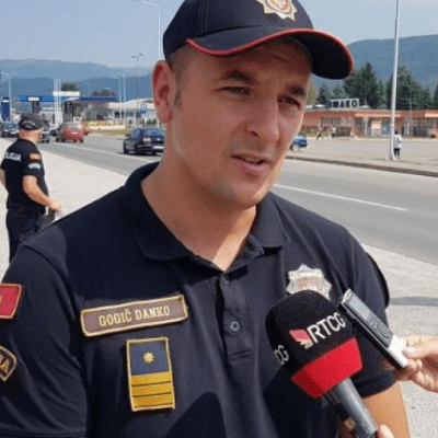 Hapšenje u Bijelom Polju zbog vrijeđanja komandira