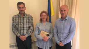 Prijem u ambasadi Ukrajine