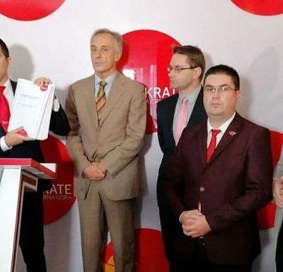 Nova ponuda: Lekić, Rudović, Pavićević i Mijović na izbornoj listi Demokrata