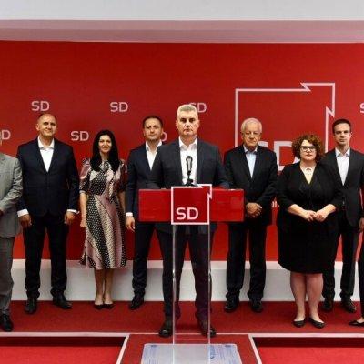 SD samostalno na parlamentarne izbore