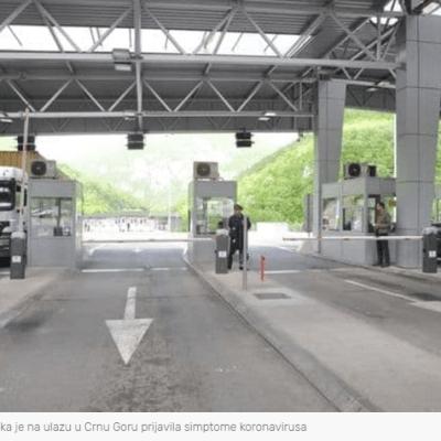 Crnogorska državljanka putovala iz Srbije sa simptomima koronavirusa- Studentkinja iz Beograda hospitalizovana, 50 putnika iz autobusa u karantinu