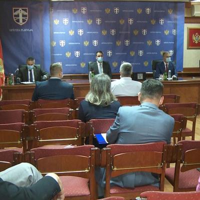 Sjednici Opštinskog štaba prisustvovali članovi NKT-a: U Pljevljima zaražena 23 lica virusom COVID
