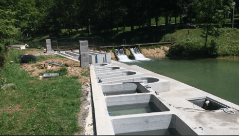 Završeni radovi na objektu ribnjaka i bazenima mrijestilišta na rijeci Breznici