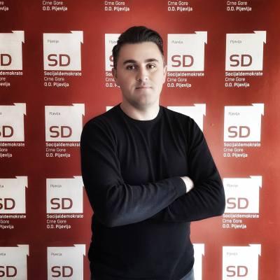 Pretučen Sanjin Raščić, predsjednik omladine SD-a u Pljevljima