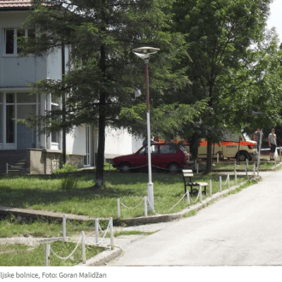Bolnica u Pljevljima bez vode tri dana, nose je u bidonima