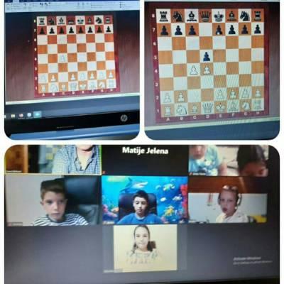 "Online škola šaha Šahovskog kluba ""Osnovnih i srednjih škola"""